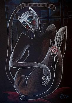 Nocturnes. Bestiary-15. SAD CREATURE by Elisheva Nesis