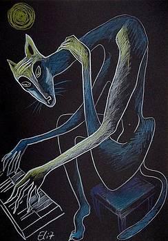 Nocturnes. Bestiary-20. BLUES by Elisheva Nesis