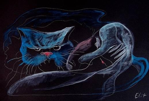 Nocturnes. The Thinker by Elisheva Nesis