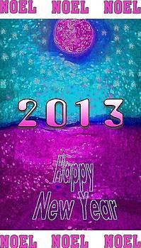 Noel 2013 purple by Mimo Krouzian