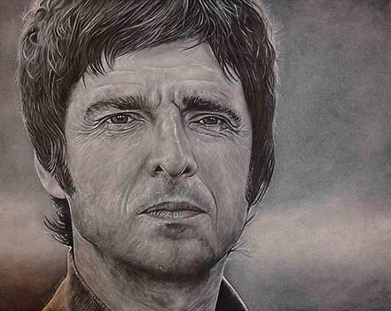 Noel Gallagher by David Dunne