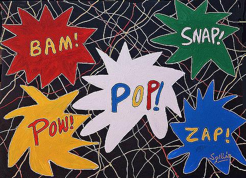 Noisy POP Art by Charles Spillar