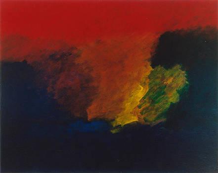Nolde Homage 1985 by Karl Leonhardtsberger