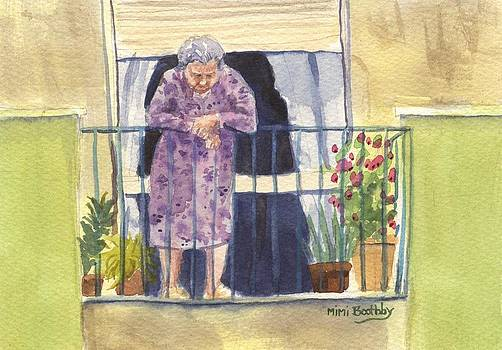 Nonna on the third floor by Mimi Boothby