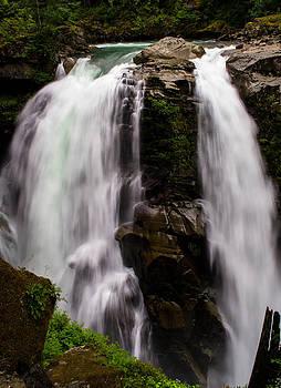 Nooksack Falls by Blanca Braun