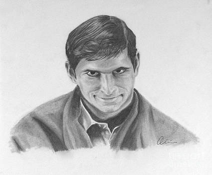 Norman Bates Portrait by M Oliveira