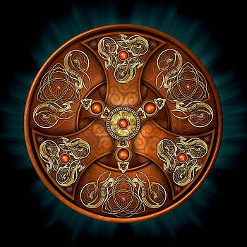 Norse Chieftain's Shield by Ricky Barnes