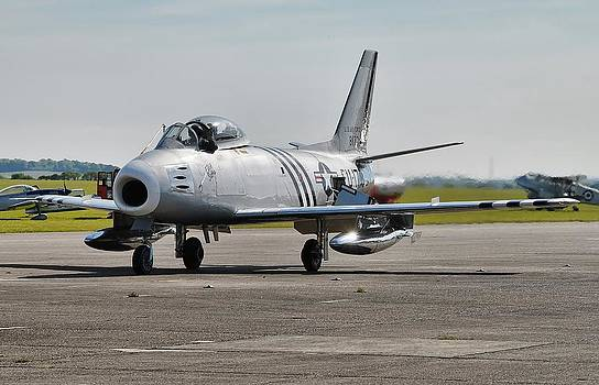 North American F86A Sabre by James Lucas