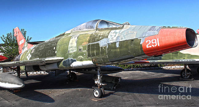 Gregory Dyer - North American Super Sabre QF-100D