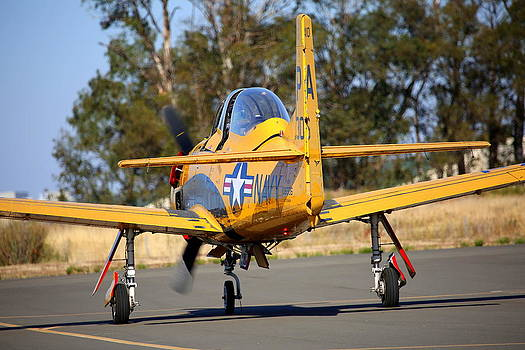 John King - North American Trojan T-28B NX306WW Taxiing