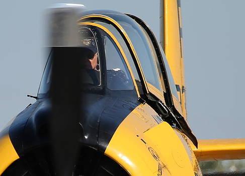 John King - North American Trojan T-28B Startup NX306WW