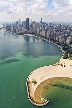 Adam Romanowicz - North Avenue Beach Chicago Aerial