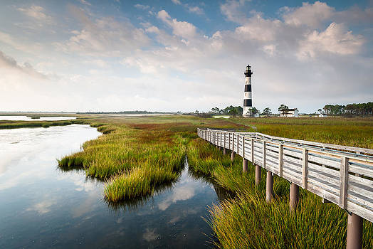 North Carolina Outer Banks Bodie Island Lighthouse by Mark VanDyke