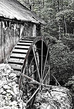 North Carolina Waterwheel by Diane Geddes
