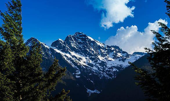North Cascade Peaks by Blanca Braun