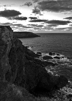 North Cliffs BW by Paul Howarth
