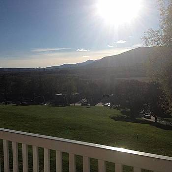 North Conway Hotel View by Mel Garvin