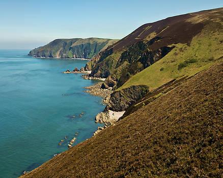 North Devon coast from Blackstone point by Pete Hemington