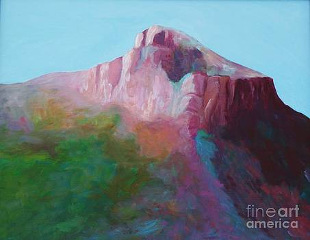 North Franklin Peak by Melinda Etzold