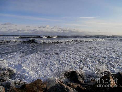 North Hampton New Hampshire Beach by Eunice Miller