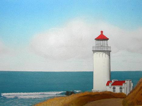North Head Lighthouse by Brenda Bliss