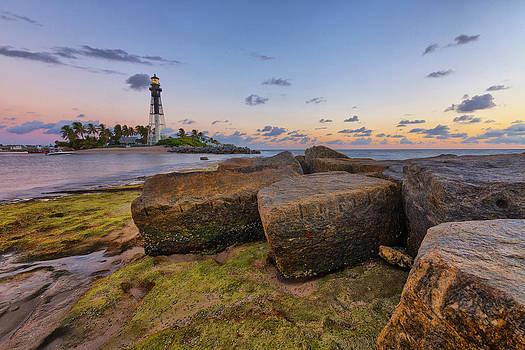 North Jetty Rocks by Claudia Domenig