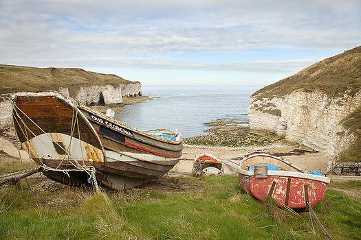 North Landing Flamborough by Paula Connelly
