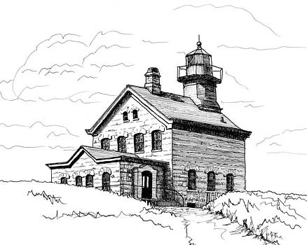 North Lighthouse by Beth Johnston