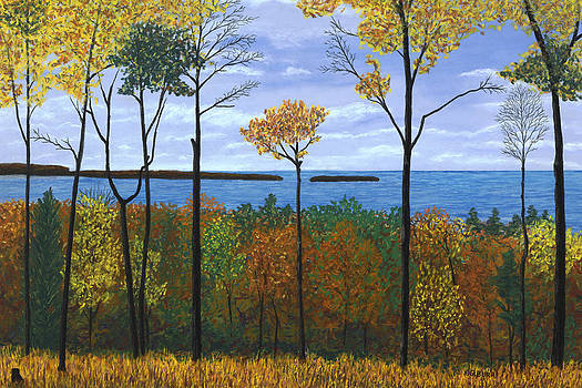 North Orchard View by George Burr
