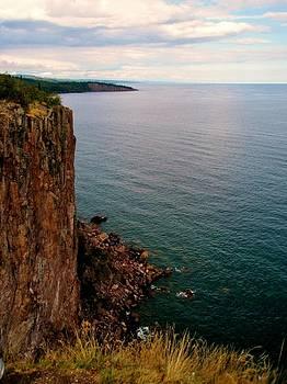 North Shore Cliff by Bridget Johnson