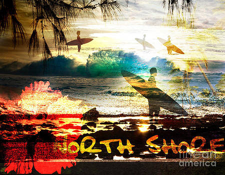 North Shore Montage by Patrick Parker