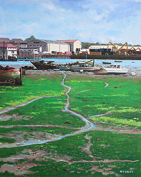 Martin Davey - Northam boat yards and old boats