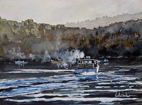 Northeast Harbor  by Bill Hudson