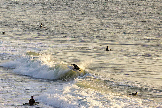 Northern California Surfing near San Francisco CA Cliff House 1 by G Matthew Laughton