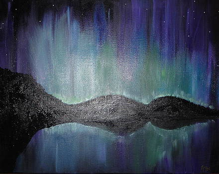 Northern Lights of Laboradite by Angie Butler
