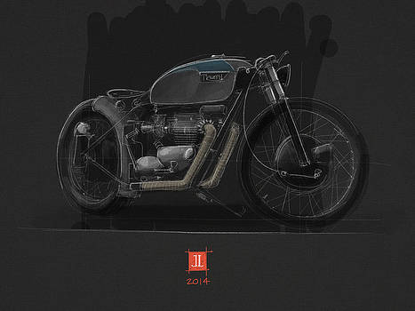 Norton Bobber by Jeremy Lacy