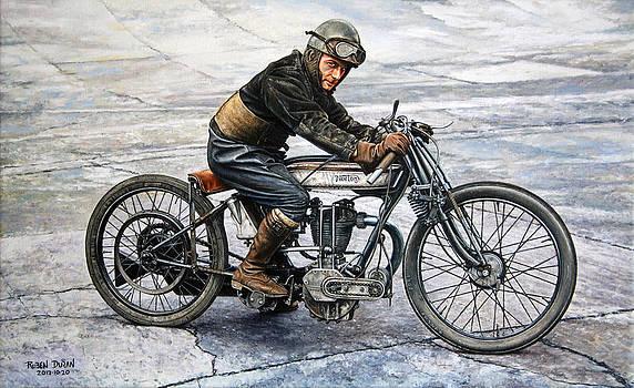 Norton Rider by Ruben Duran