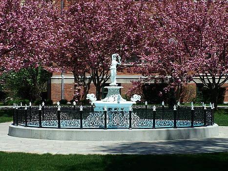 Norwich Free Academy Water Fountain by Geoffrey McLean