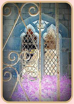 Nostalgic church window by The Creative Minds Art and Photography