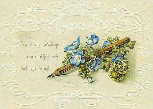 Sandra Foster - Nostalgic Greeting Card