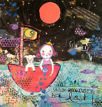 Not All Who Wander Are Lost by Kitty Miller