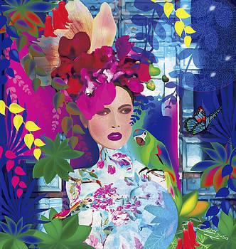 Not always so blue - Limited edition 2 of 20 by Gabriela Delgado