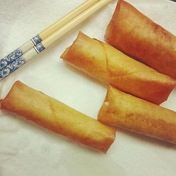 Not Too Shabby. #lumpia by Zarah Delrosario