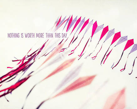 Lisa Russo - Nothing is Worth More than This Day Typography Print