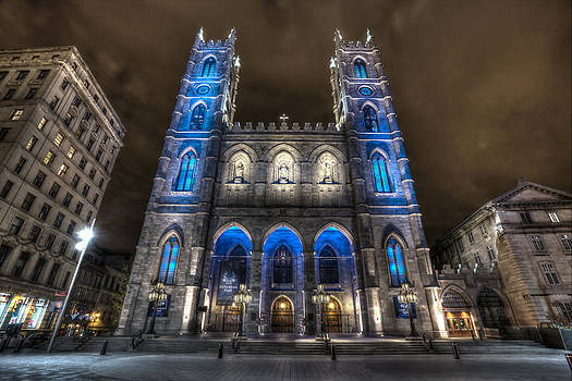 Notre Dame Basilica in Montreal by Shawn Everhart