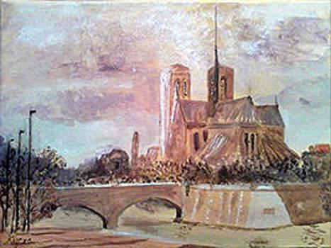 Notre-Dame de Paris by Andrea Kucza