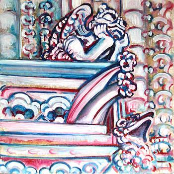 Notre Dame Gargoyle by Bonnie Sprung