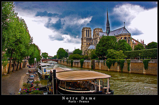 Notre Dame in Paris by Dany Lison