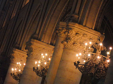 Notre Dame Silence Speaks In Stillness by The Art With A Heart By Charlotte Phillips