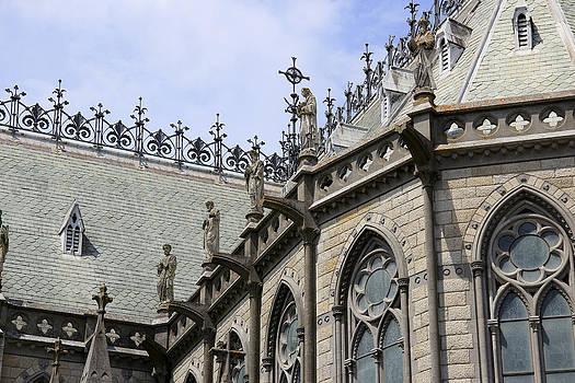 Notre Dame View by Gladys Turner Scheytt
